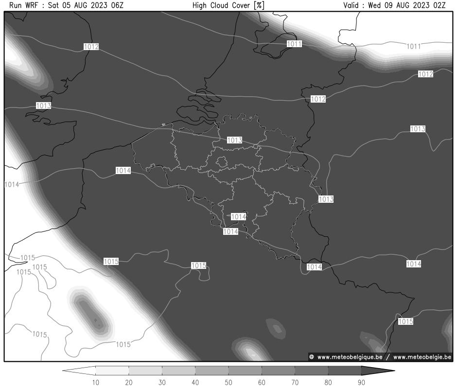 Mer 24/10/2018 08Z (+92h)