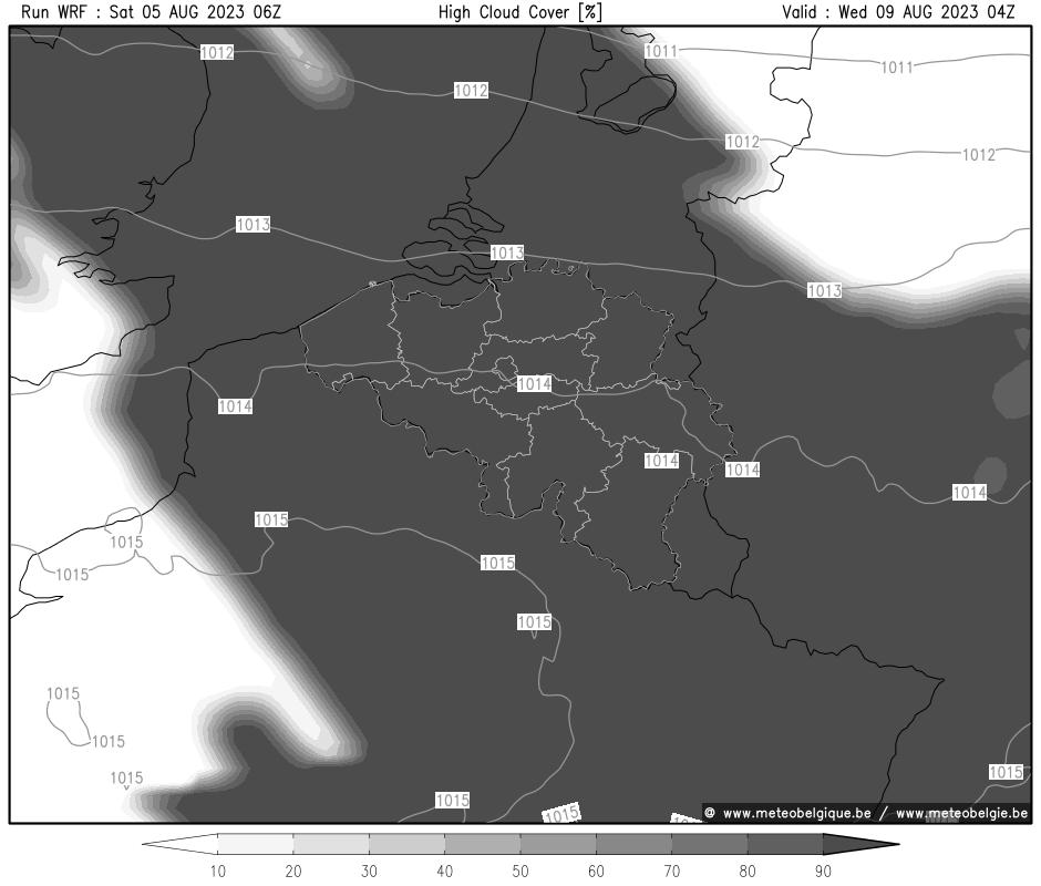 Mer 24/10/2018 10Z (+94h)