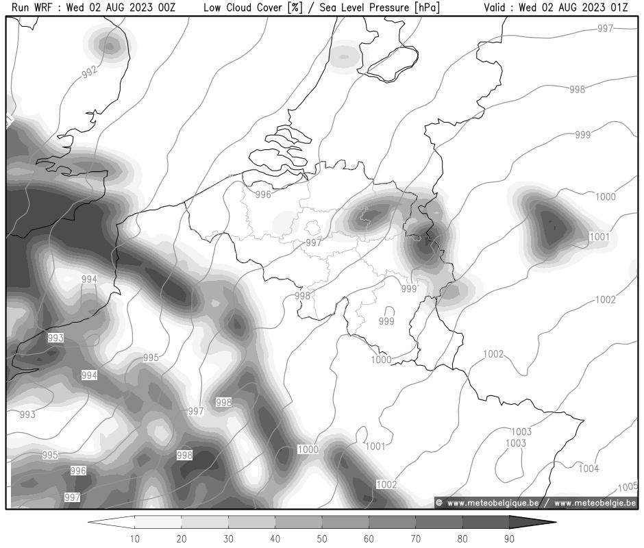 Mer 20/09/2017 01Z (+1h)