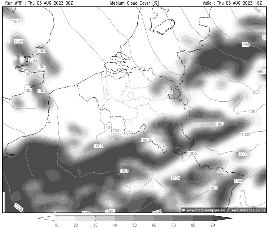 Mer 29/03/2017 10Z (+16h)