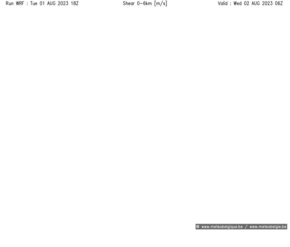 Mer 20/06/2018 06Z (+12h)